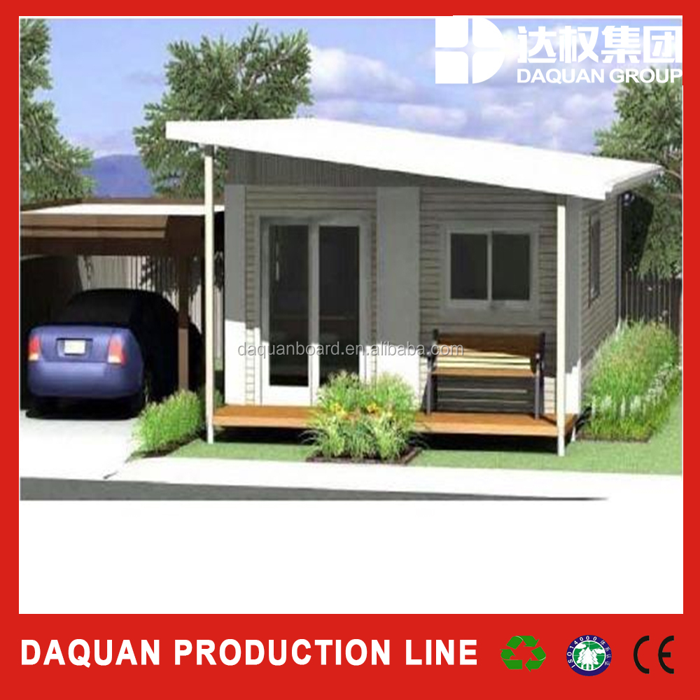 Daquan eps sandwich wall panel prefab home prefabricated house container house