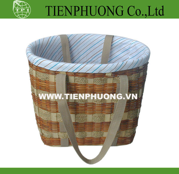 wicker bag/willow basket with handle
