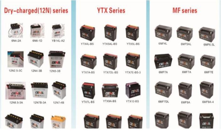 6-MQA-28 THREE WHEELS CAR & ATV CAR & MOTORCYCLE storage battery