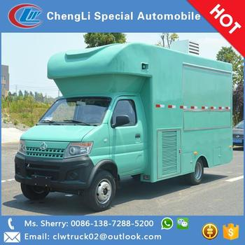 Wholesale price Changan mobile food vending truck for export