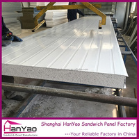 Best Heat Insulation mgo Sandwich Panel PU Cold Room Sandwich Panel for Cleanroom