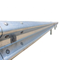 Road Traffic Safety Galvanized Flex Beam Steel Traffic Barrier with Zine Coated