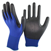 SRSAFETY 18 gauge Nylon PU glove/PU hand phone touch screen gloves
