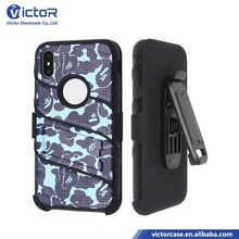 Best strong quality Hard Rugged Mobile phone Cellular king kong Robot 3in1 4in1 cases for iphone X with designs with kickstand
