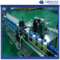 Full automatic bottles cold glue labeling machine