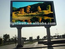 High refresh rate good visual effect p16mm ad rgb full color led display boards