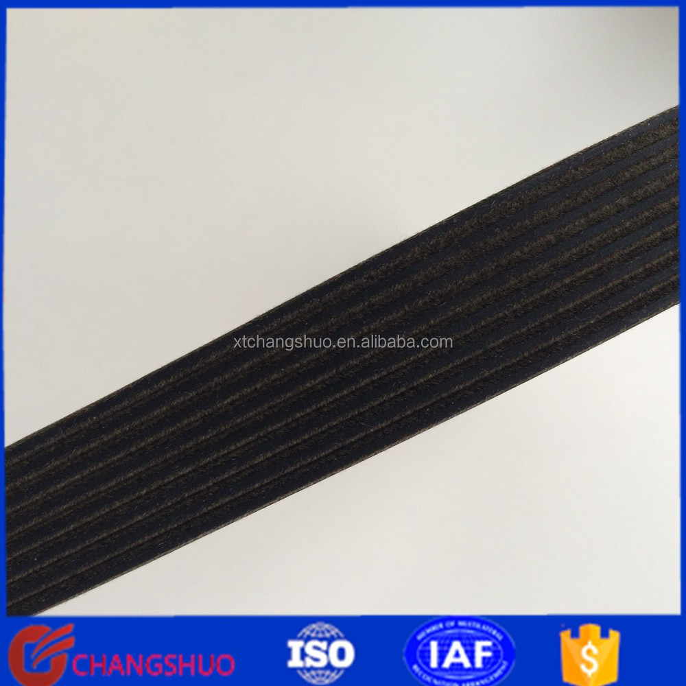 narrow raw edge cogged v belt High efficiency automotive pk belt 4pk1015