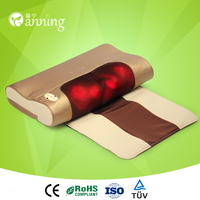 Hot selling neck and shoulder massaging pillow,neck and shoulder pillow,neck and shoulder pillow massager