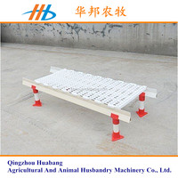 china supplier super quality agricultural equipment plastic duck and chicken slat floor for sale