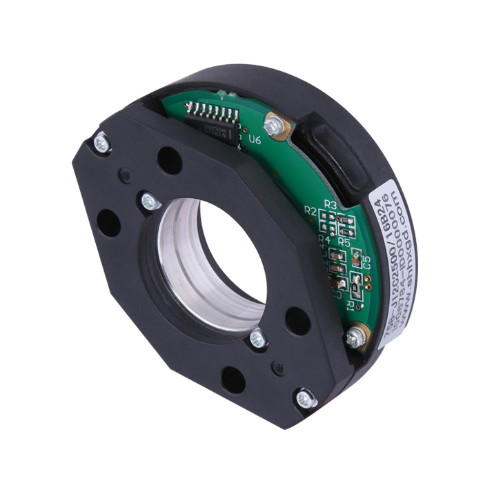 Z58 optical encoder Module Incremental Sensor bearingless encoder extra thin 15mm thickness for robot arms application