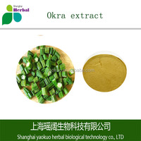 100% natural Okra extract powder