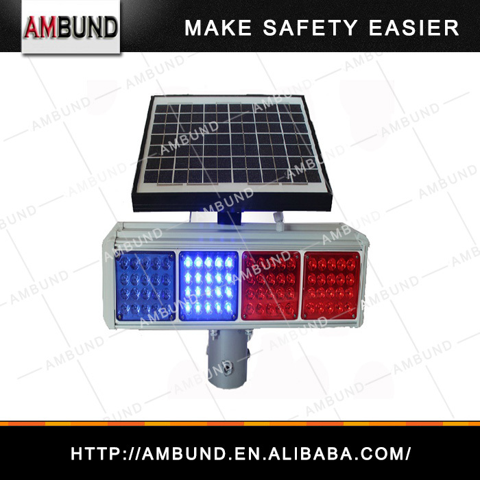 SWL-A20-001/ SWL-A20-002 double side and single side solar traffic strobe light