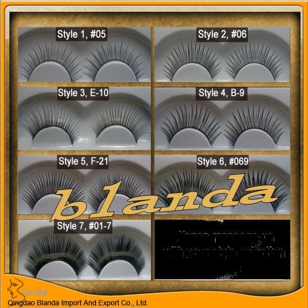 Wholesale false eyelashes / japanese false eyelash / eye lashes