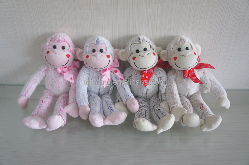 long arms and legs soft plush monkey toy