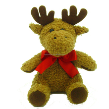deer shaped soft christmas plush toy