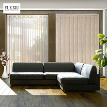 Indoor Home Room Decorative Vertical Sheer Hanas Shades Luxury European Style Vertical Blinds