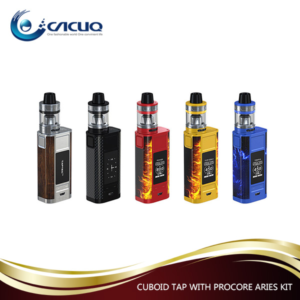 Newest Electronic Cigarette Joyetech CUBOID TAP, 2017 Vape Mod Kit CACUQ Supply