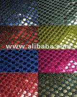 AMERICAN KNIT 6MM SPANGLE SEQUIN MESH FABRIC