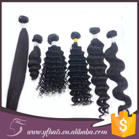 Wholesale 100% human hair Brazilian hair extensions, unprocessed high quality remy human hair