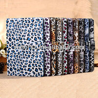 Leather Cover Case for Apple iPad Mini Laptop with ID card bag