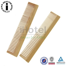 100% Nature Nanmu Princess Magic Wooden Comb For Star Hotel