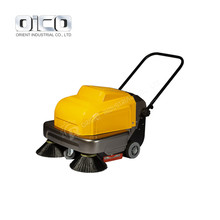 P100A Vacuum Parking Lot Sweeper, Ride On Sweeper/Electric Street Cleaning Machine
