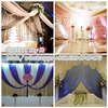 ideal for decoration or room partition metal mesh fabric drapery curtain