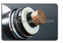 different types of electrical underground cables , pvc xlpe cable, copper conductor steel tape armored,