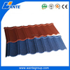 Chinese Roman building material prices / High quality stone coated steel roofing tile / roman sand stone coated metal roof tile