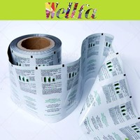Water Proof Lotion Liquid Pre-made Sachet Packaging Film Roll