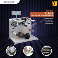 semi auto label die cutting machine