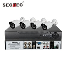 Sectec New Product CCTV Kits 5 in 1 1080N CCTV DVR Kit AHD 4CH DVR Kit