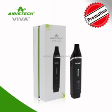 The airistech viva in micro port 22000mah electronic cigarette for dry herb big vapor e cigarette with adjustable voltage