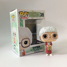 Funko POP The Flash Golden Girls Cute Cartoon Toys Sophia Model Action Anime Figure 329#