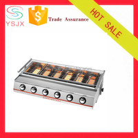gas grill burner/hot plate and grill/barbecue euro grill