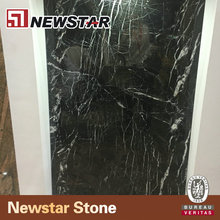 New Nero Marquina Large Black Marble Squares For Bathroom Floor And Walls