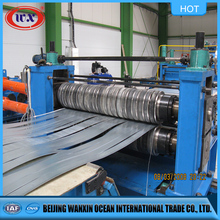 Steel coil decoiler slitting machine