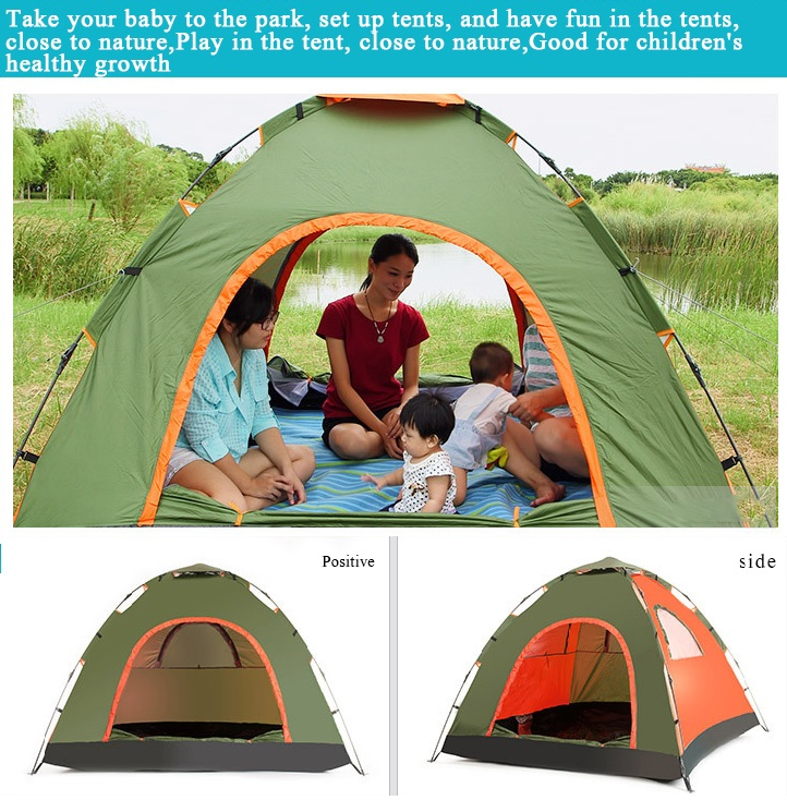 Good Quality Waterproof mult-color 2-3 Person Family 3 Season Ultra Light Backpacking Camping Tent