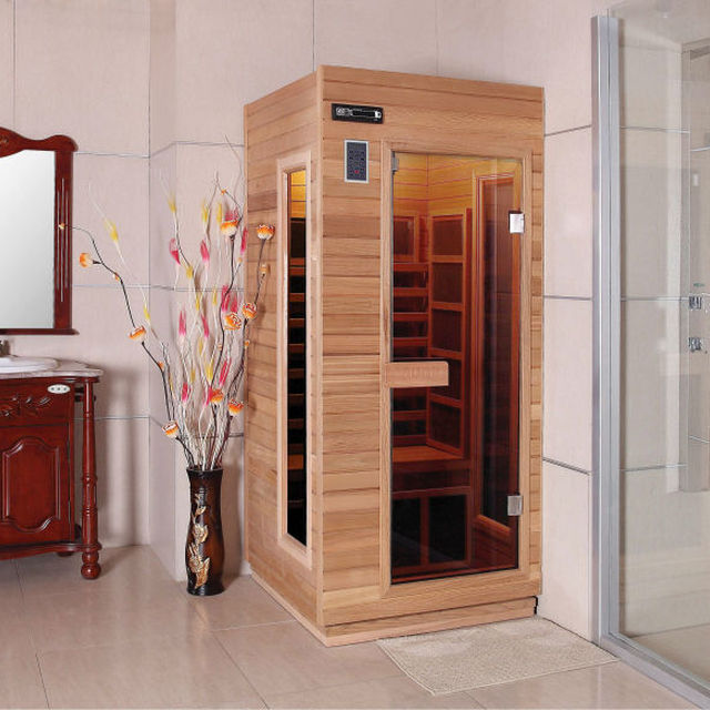 Mini sauna room for bathroom 1person FS-90RF