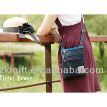 2017 Shenzhen Fashion Girls Sling Bag with Canvas Fabric,Mini Travel Shoulder Handbag for Promotion