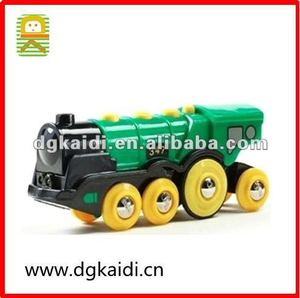 Plastic Mighty Green Action Locomotive for Kids