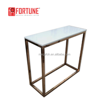 Customized design rectangle high bar table for restaurant