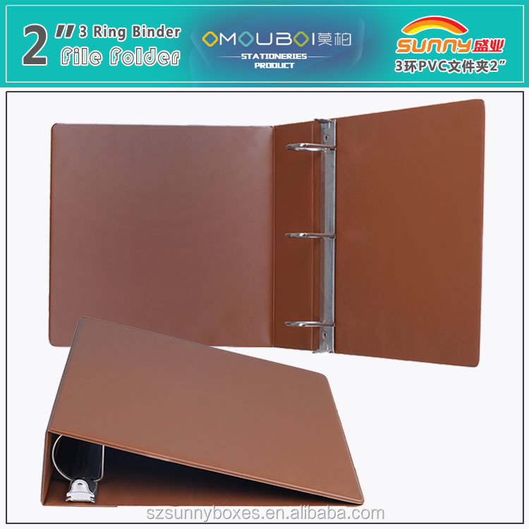 Handmade File Decoration A4 Size Folder With Ring Binder Parts