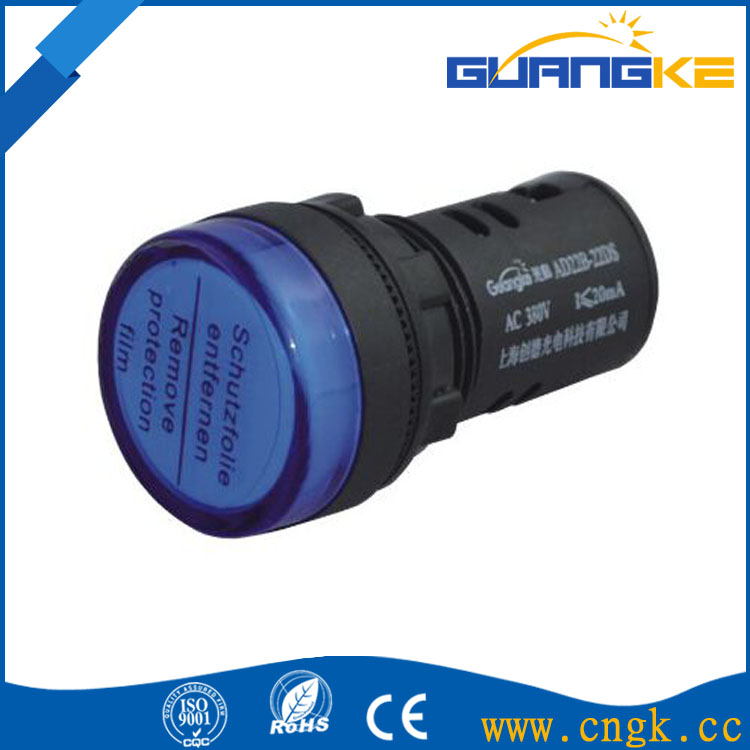 CE Approval High quality 22mm Indicator Lamp, Pilot Lamp, LED signal lamp