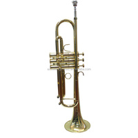 music instruments of professional trumpet from China best quality Bb key trumpet