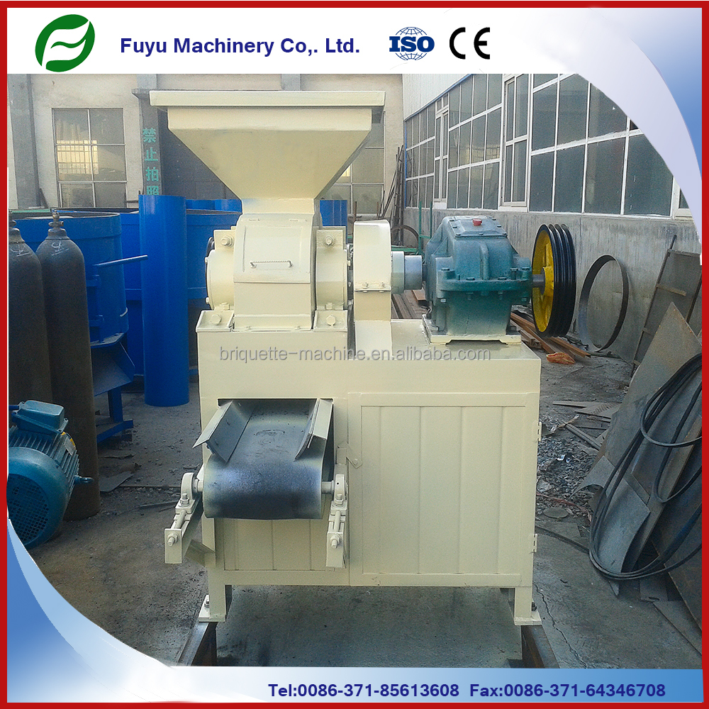 Automatic small type homemade coal powder briquette making machine