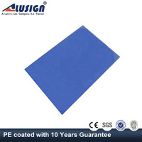 Alusign interior Aluminum Composite Panel (acp) 4mm thin foam sheet acm sheet