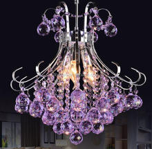purple color pendant lighting,modern chandeliers with good quality,inexpensive chandeliers