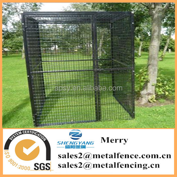 5'X10'X6' outdoor welded bird cage large powder coated aviary house