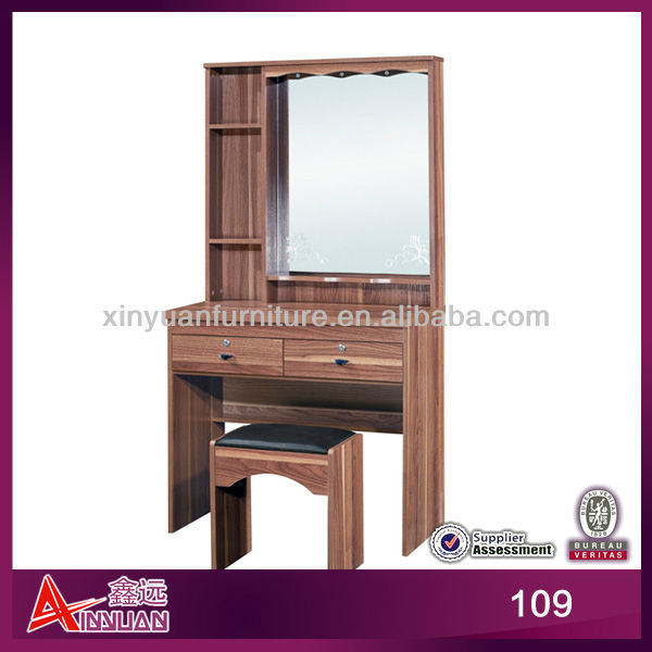 East Asia wrought iron vanity dressing table with mirror
